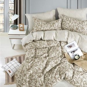 4 Pc Duvet cover set available in Twin/ Queen/King